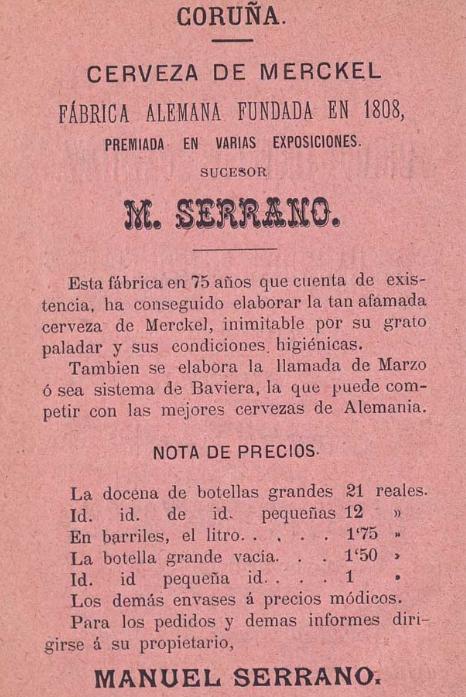 De Palencia a La Coruña 1883